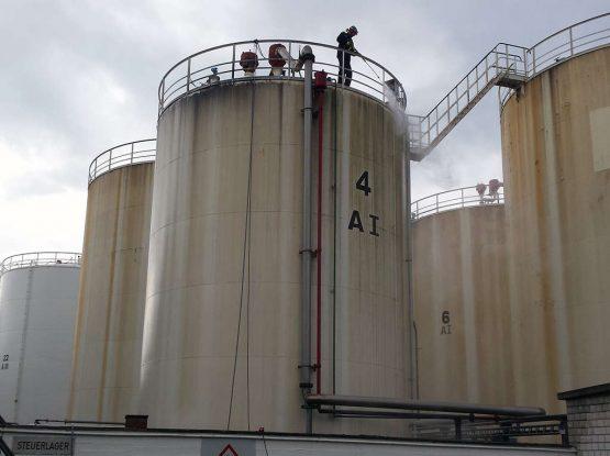 Tankreinigung Mineralöllager