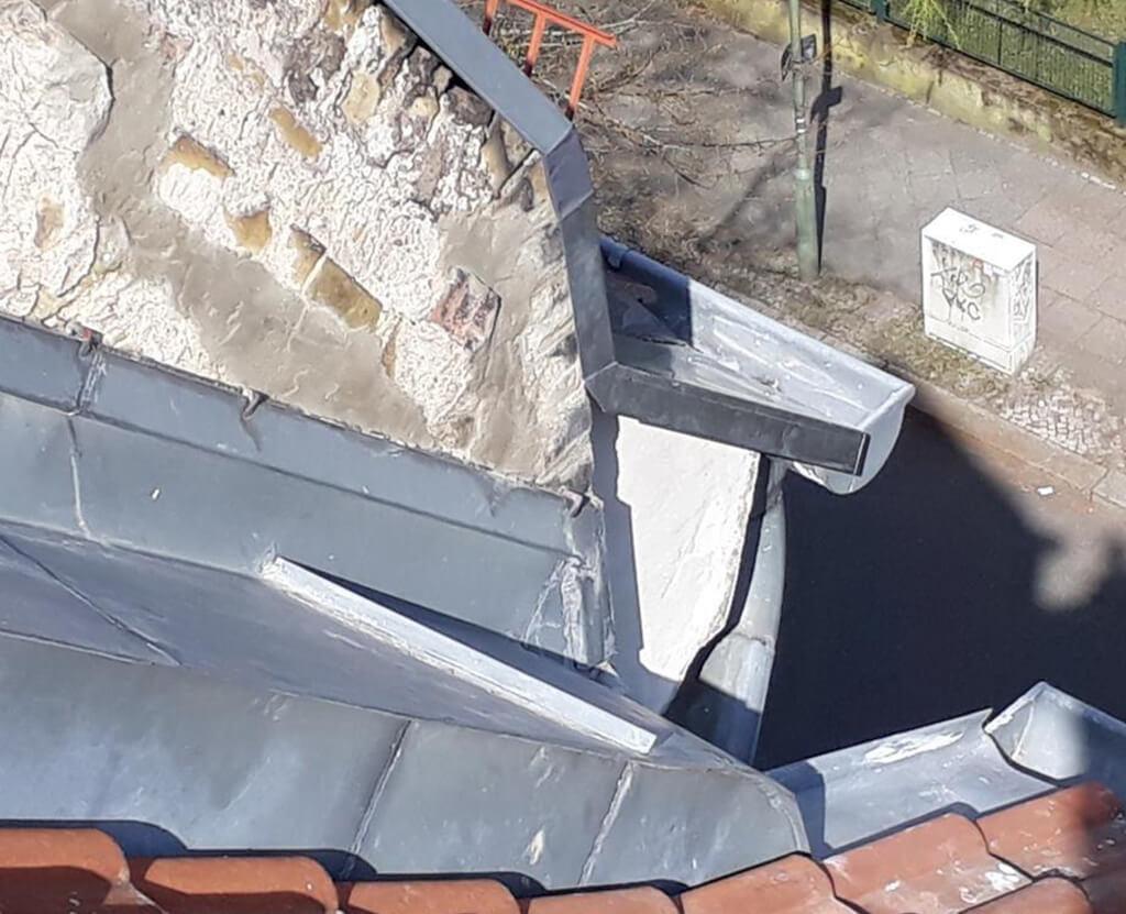 Reparatur des Mauerwerks