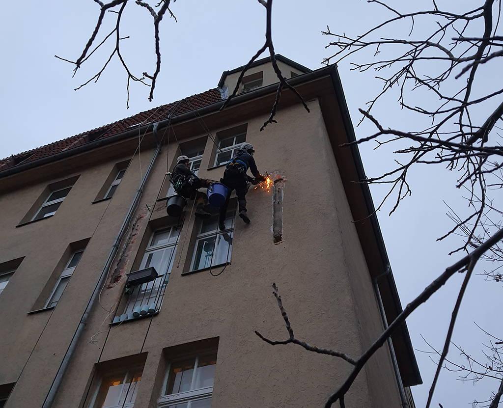 Demontage Balkon
